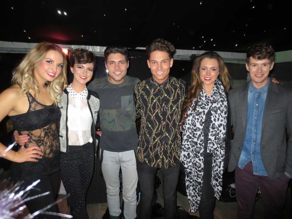 The guys with TOWIE cast members