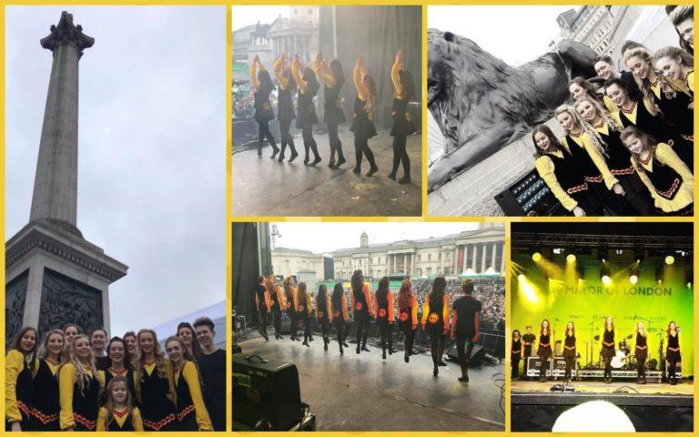 St. Patrick's Day - Performing at Trafalgar Square