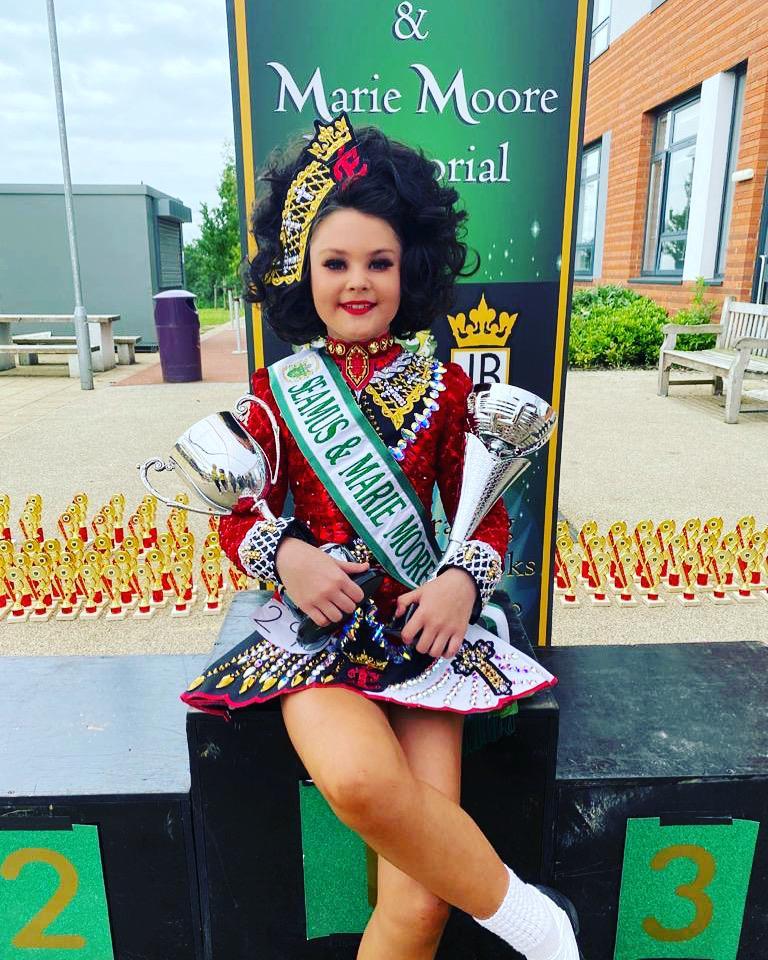 Irish dance champion