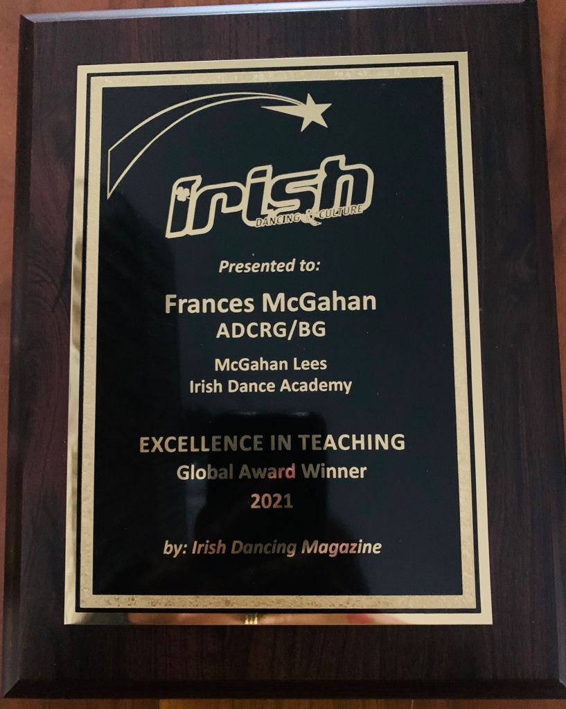 Excellence in Teaching award