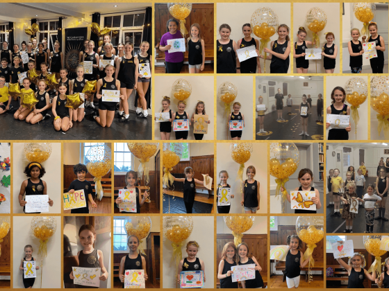 Raising awareness for Children with Cancer UK